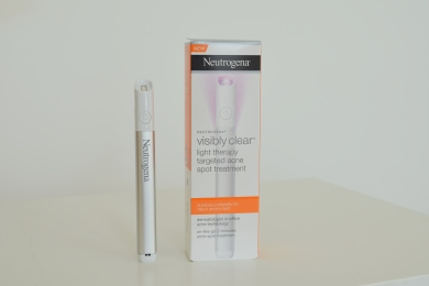Product Review Neutrogena Light Therapy Acne Pen Pretty Polly